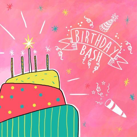 birthday bash clipart