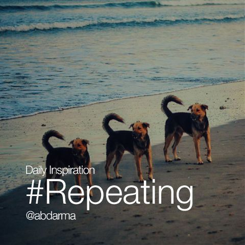 daily hashtag #Repeating