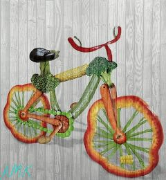 food nature effects bicycle freetoedit