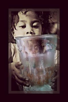 pictureinpicture baby glass cute love