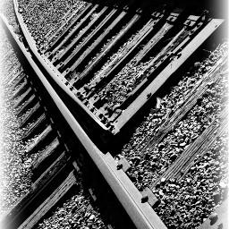 myphotography railroadtracks balanced