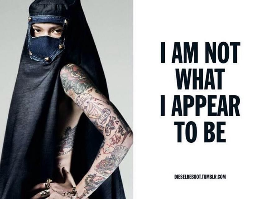 In Islam Tattoos Are Forbidden And Hijab Means Purity