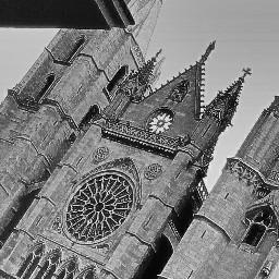 blackandwhite cathedral