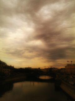 city sky river photography spring