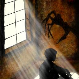 dcwindow drawing light darkness shadows