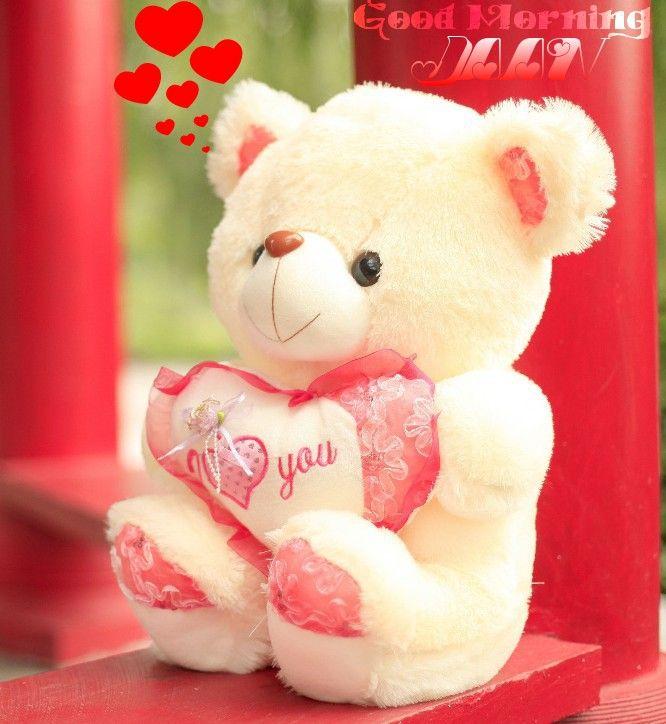 Goodmorning Baby Love Jaan Iloveyou Teddybear Cute Swee