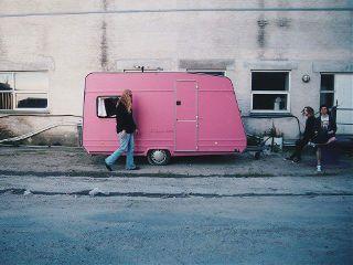 pink alternative life car