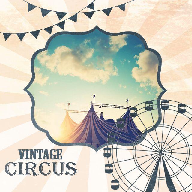 vintage circus frames