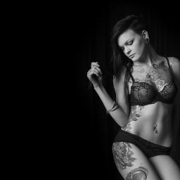 blackandwhite boudoir passionate studio photography