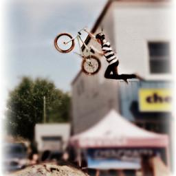 summer city xgames bmx jump