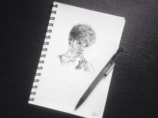 drawing art themazerunner newt thomassangster