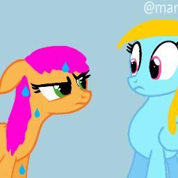 art goodnight heartswirl pony ponyoc