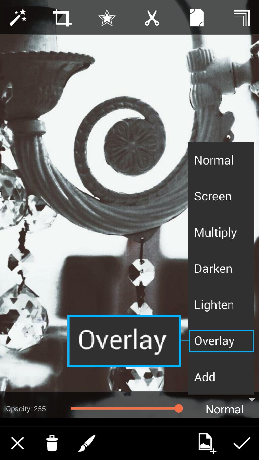 overlay effect
