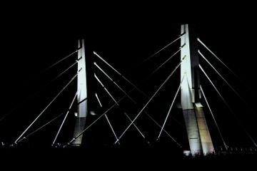 photography bridge dark