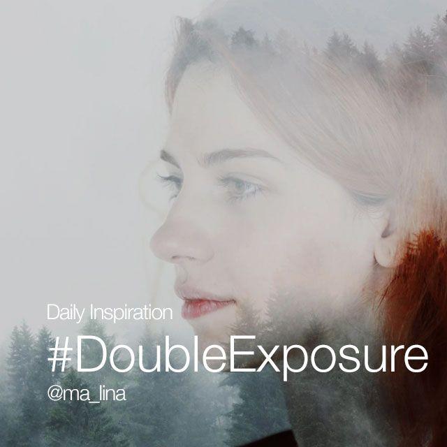 double exposure photo editing