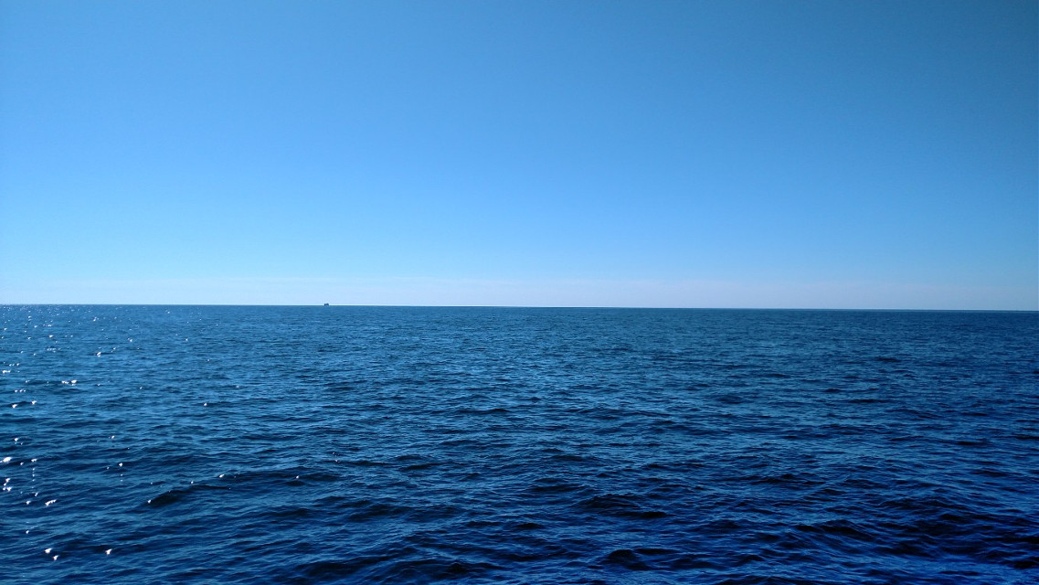 #Blue #ocean #atlanticocean #capecod #summer #travel  #hylineferry #nofilter