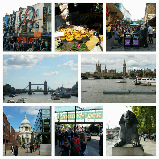 """Yummy street foods, historical places, an economic hub .... Never bored being here """"how are you today Sir?!""""  #London #jalanjalan #Septemberceria #arprainlondon #alotoftouristshere"""