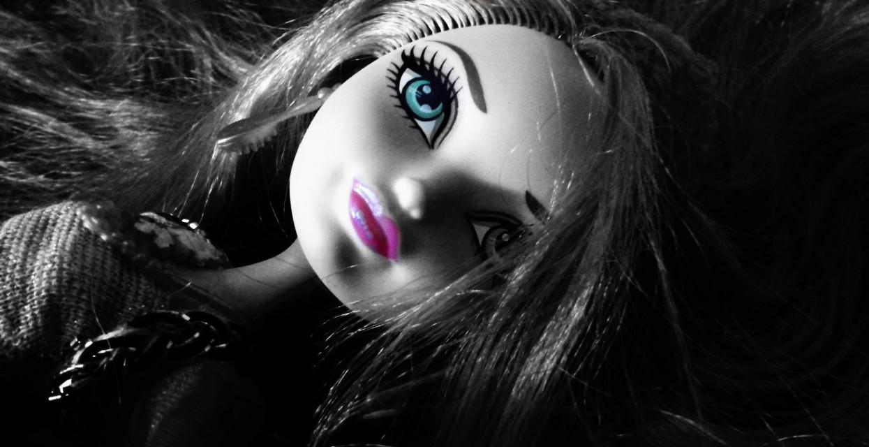 #doll #blackandwhite #cute #hair #hair