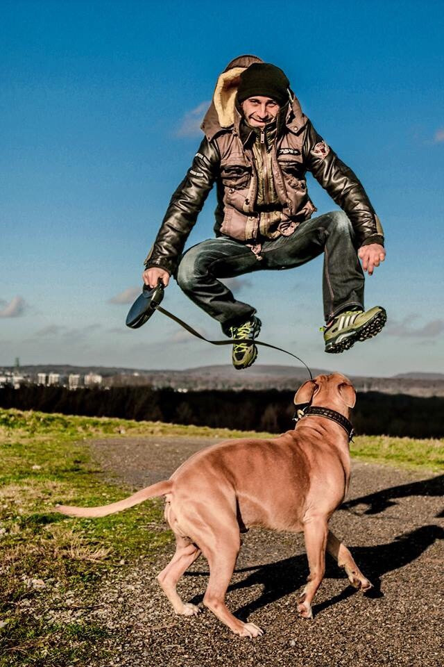 Jump 😂🐾  Have a nice day 😉
