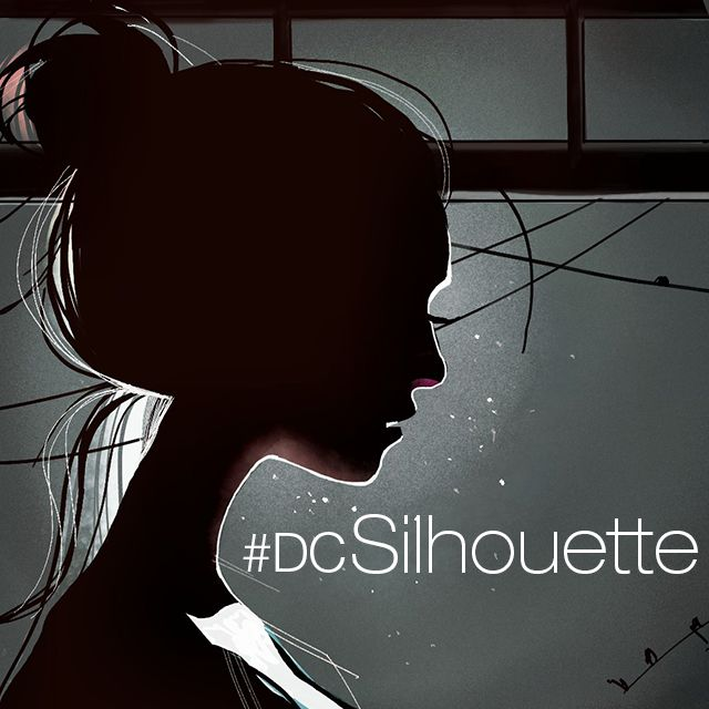 Silhouette drawing contest
