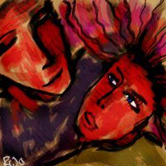 picsart drawing art colourful rojo