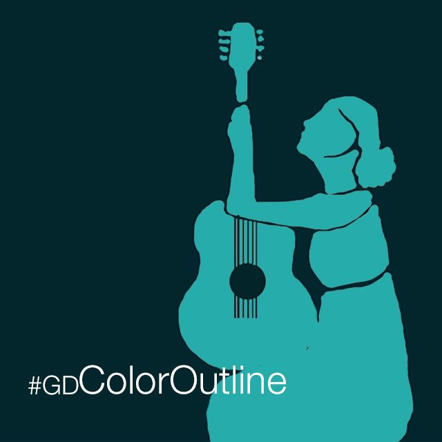 Color Outline graphic design contest