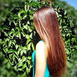 girl nice sunny photo nature