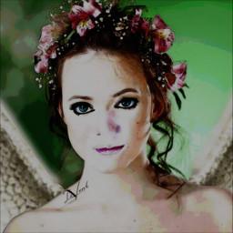myedit picsarttools watercoloreffect beautifypicsart angel